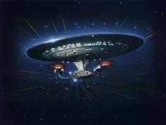 Enterprise-D - star-trek-the-next-generation Wallpaper