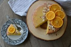 Orange Almond Flour Cake — LIVINPALEO // paleo friendly, Easter recipes