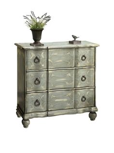 Luxury Home Scroll Chest, Multi at MYHABIT
