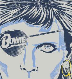David Bowie t-shirt - #Reverbcity - http://www.reverbcity.com/