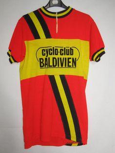 Maillot cycliste vintage Cyclo Club Baldivien ancien - XL