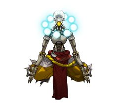 Overwatch - Zenyatta Concept, Arnold Tsang on ArtStation at http://www.artstation.com/artwork/overwatch-zenyatta-concept