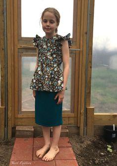 Polina Peplum sewn by Skirt Fixation