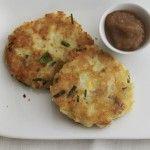 Cheddar and Potato Latkes with Spiced Applesauce latkes, chanukah, hanukah