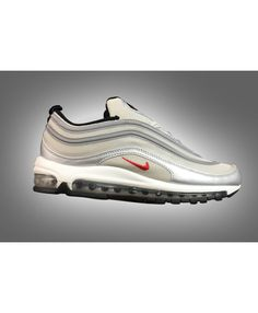 c17ddbf27090 Men s Nike Air Max 97 Silver Rice Yellow Red Trainers UK Store