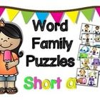 These CVC/Word Family Puzzles are great for beginning readers! Children start with the picture clues then move onto reading the words. These puzzles are great for learning centers, independent practice, partner work, and for reinforcement at home.