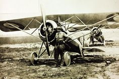 August 23, 1913: Léon Letort carries out the first non-stop flight between Paris and Berlin when he flies his Morane-Saulnier monoplane fitted with an 80-hp Le Rhône engine the 560 miles between the two capitals in 8 hours.