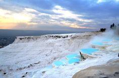 Pamukkale, Turkey | Natural Infinity Hot Springs Pool In Pamukkale, Turkey