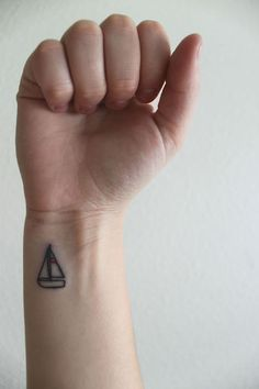sailboat #tattoo
