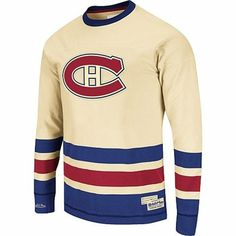7953a5ab711 Mitchell   Ness Montreal Canadiens Open Ice Long Sleeve T-Shirt