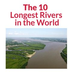 The 10 Longest Rivers in the World Decor Interior Design, Rivers, Beautiful Homes, Nice Houses, River, Lakes
