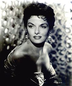 Jane RUSSELL (1921-2011) * AFI Top Actress nominee > Active 1943-86 > Born Ernestine Jane Geraldine Russell 21 June 1921 Minnesota > Died 28 Feb 2011 (aged 89)  California, respiratory failure > Other: Model, Singer > Spouses: Bob Waterfield (1943-68 div); Roger Barrett (1968-?, his death); John Calvin Peoples (1974–99, his death) > Children: 3