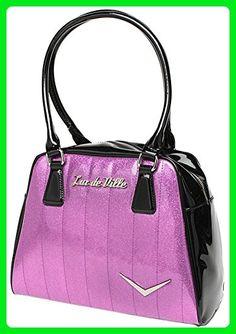 Lux de Ville Getaway Violet Sparkle Tote - Totes (*Amazon Partner-Link)