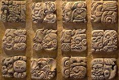 Glifos mayas (Museo de Palenque, Chiapas) Aztec Pictures, Stone Carving Tools, Mayan Glyphs, Aztec Symbols, Mexican Artwork, Mayan Cities, Jungle Art, Inka, Aztec Art