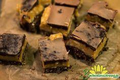 Barrinhas de Pasta de Amendoim e Chocolate