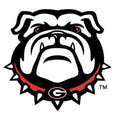 Get your game face on Georgia fans! Go Dawgs!