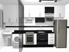 cozinha planejada pequena - Pesquisa Google