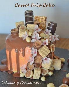 Chismes y Cacharros: Carrot Drip Cake, 51º Desafío en la Cocina