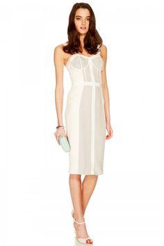 Paneled Dress - Lyst