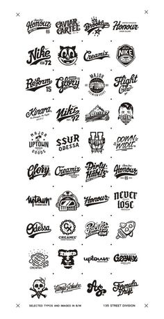 Selected typography and images that appeared recently. I was glad to work with this companies and shall upload the photos of the stuff when it will be available. Big Thanks for supporting and checking my stuff! Typography Letters, Typography Logo, Art Logo, Tattoo Lettering Fonts, Lettering Styles, Lettering Design, Logo Inspiration, Logo Luxury, Retro Logos