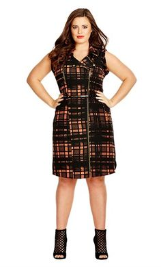 City Chic FIRE UP DRESS- City Chic Your Leading Plus Size Fashion Destination…