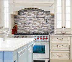 Bliss Cappucino Glass Stone Mosaic - Anatolia Tile - stocked @ Dugan's Paint & Flooring Centers!  www.duganpaints.com