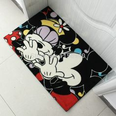 Mickey and Minnie door mat