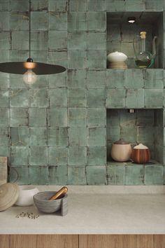 Decor, Kitchen Design, Kitchen Inspirations, Kintsugi, Modern Mountain Home, Kitchen Interior, Tile Design, Kitchen Style, House Interior