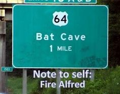 *Batmans Note To Self…. Fire Alfred*