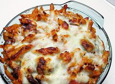 Baked Ziti with Italian Sausage | Ezra Pound Cake. A perfect supper for a cold winter night.