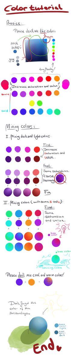 Color Tutorial by NoNoKoHime.deviantart.com on @DeviantArt
