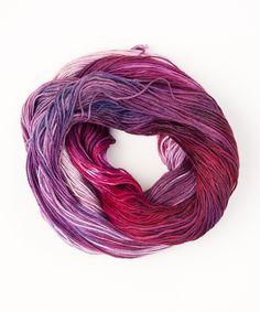 Tricksy Knitter - Merino & Silk Knitting Kit - Fuchsia