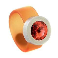 Glanzwelten Partnerringe Edelstahl Systemringe Swarovskiringe 10mm breit viele Farben Freundschaftsringe Damen Swarovskiringe (SR-Orange) Glanzwelten http://www.amazon.de/dp/B00MIUF3XE/ref=cm_sw_r_pi_dp_zGGWvb159920Z
