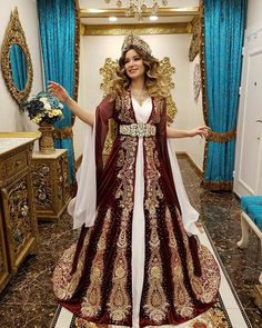 549 Likes, 17 Comments - Dikiş Evi Kaftan Bindallı (dikisevi kaftanları) on I. Beautiful Gowns, Beautiful Outfits, Turkish Wedding Dress, Moda Indiana, Muslim Brides, Bridal Mehndi Designs, Special Dresses, Indian Designer Outfits, Fantasy Dress