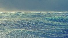 Storm. Kurile islands. 2016