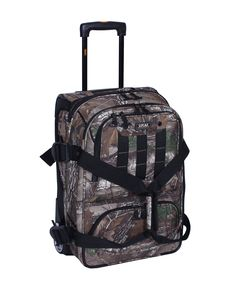 "Realtree® 21"" Expandable Carry-On Bag 