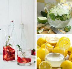 Refreshing Infused Water | DIY Beach Party Ideas For Your Beach-Themed Celebration
