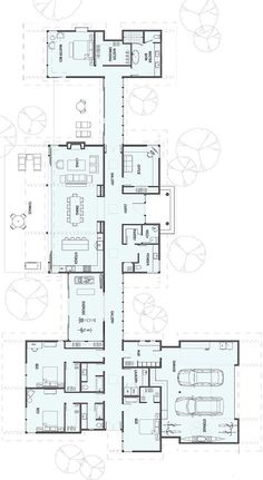 New house plans modern ranch square feet Ideas Ranch House Plans, New House Plans, Dream House Plans, Modern House Plans, House Floor Plans, Bungalow Floor Plans, The Plan, How To Plan, Stillwater Dwellings