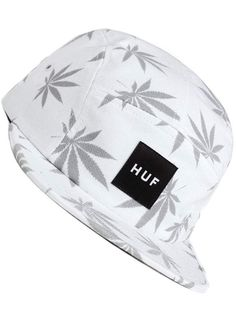 Casquette HUF - Modèle 5panel Huf Plantlife Volley blanche