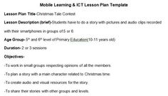 Module5: The activity I like the most was mobile learning lesson plan. I did not know what to do at first but the effort really worth it. It made me think.