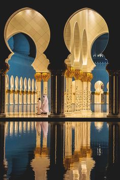 Travel to Sheikh Zayed Grand Mosque in Abu Dhabi with http://www.etips.com