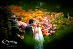 Fantastic shot of one of our lovley Rivervale Barn couples in our beautiful gardens