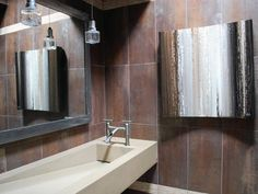 Stunning Guest Bathroom - Contemporary Guest Bathroom on HGTV