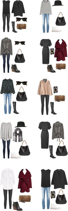 What to Wear in San Francisco Outfits 1-10 #travellight #packinglight…