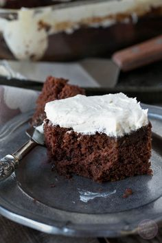 This freaking easy chocolate cake, also can be known as crazy cake, is literally freaking easy to make. No butter, no eggs, and no milk!