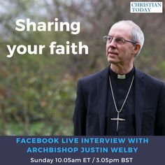 Archbishop of Canterbury on Facebook Live with Christian Today - Sunday 3pm (GMT) 10am (ET)   Christian News on Christian Today