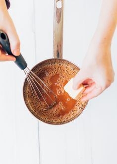 salted caramel maken