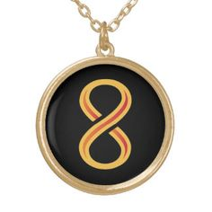 Innov8tive Nutrition Gold Plated Necklace