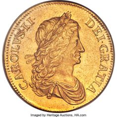 Great Britain, Great Britain: Charles II gold Proof Pattern Crown 1663 PR58PCGS,...