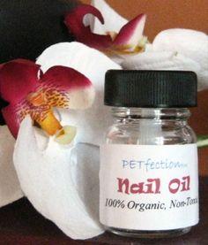 Organic Toenail Oil for Dogs